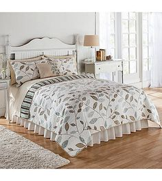 Salena Quilt by LivingQuarters | Herberger's