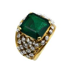 No Oil Colombian Emerald by Cartier