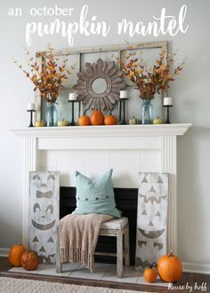 Pumpkin Mantel - House by Hoff