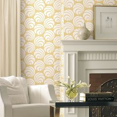 Swirly swooshes - what could be livelier? There is a reason Art Deco patterns…