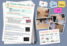 Partages et divisions Gestion Administration, Math Division, Cycle 3, Montessori Math, Fun Math, Fractions, Life Science, Math Lessons, Math Centers