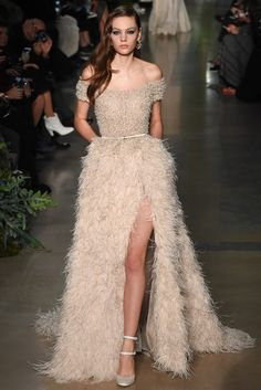 Elie Saab Spring 2015 Couture Fashion Show - Marta Placzek (Next)