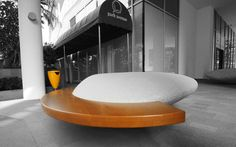 MOONSTONE monolithic elements by Pamio Design ‪#‎seat‬ ‪#‎singapore‬ ‪#‎metalco‬ #design #PamioDesign #benches