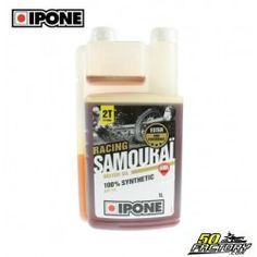 Huile Ipone Samouraï Fraise 100% synthèse 1 litre