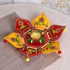 Rangoli Designs for Diwali: Buy Diwali Rangoli Online, Rangoli Stencils Rangoli Borders, Rangoli Border Designs, Colorful Rangoli Designs, Rangoli Designs Diwali, Diwali Rangoli, Diwali Diy, Diwali Craft, Diwali Gifts, Arti Thali Decoration