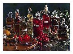 Homemade Flavored Vinegar' s  http://www.gone-ta-pott.com/flavoredvinegarrecipes.html