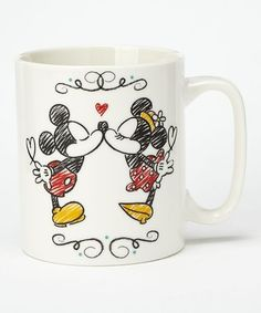 This Mickey Mouse Love Mug is perfect! #zulilyfinds