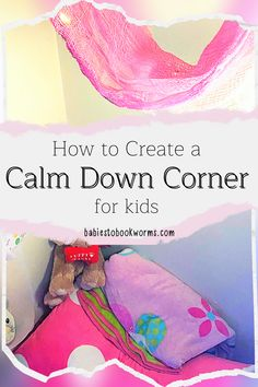 Looking for Calm Down Corner ideas? Learn how to create a calm down corner at home with these tips and resources!