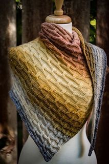Knitting Patterns Poncho Ravelry: Heavy Metal pattern by Shireen Nadir Knitted Shawls, Crochet Scarves, Crochet Shawl, Knit Crochet, Knitting Scarves, Knitting Wool, Easy Knitting, Ravelry, Knitting Patterns Free