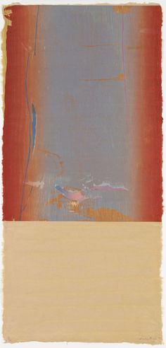 Essence Mulberry by Helen Frankenthaler