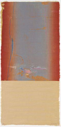 Essence Mulberry by Helen Frankenthaler