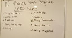 10 Things That Require ZERO Talent | LinkedIn