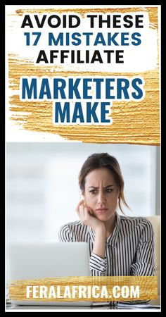Do you know what affiliate marketing mistakes you should avoid at all costs? Are you new to affiliate marketing or are you thinking of getting into it? You probably already know that you will make some mistakes along the way. Right? #affiliatemarketingmistakes ##bloggingtips #blogger #blogtips #bloggingforbeginners How To Start A Blog, How To Make, Earn Money Online, Blogging For Beginners, Along The Way, Blog Tips, Way To Make Money, Affiliate Marketing, Mistakes