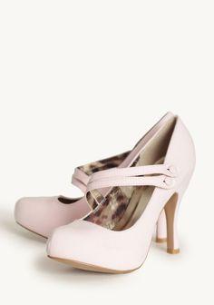 Swing Dance Pumps In Pink | Modern Vintage Shoes