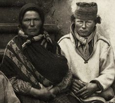Sami couple in Norway early 1900