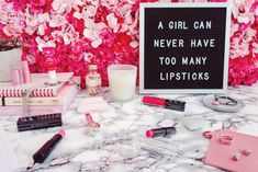 Pucker up those gorgeous lips with an amazing selection of pink lipstick vibes. From all price points to the most eye-catching packaging. Beauty Must Haves, Pink Lipsticks, Pink Walls, Pink Love, Hair Makeup, Packaging, Eye, Amazing, Pretty