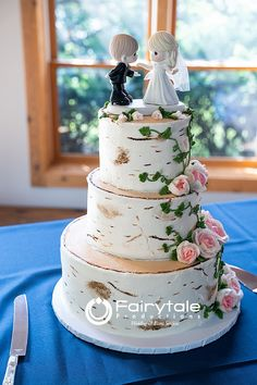 Little Dolly says 'I do'. Beach Weddings, Unique Weddings, Wedding Shot List, Little Dolly, Wedding Trends, Eat Cake, Michigan, Fairy Tales, Shots