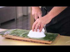Comment faire des paniers en feuille de bananier - YouTube