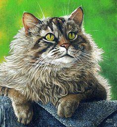 Micmac Painting  - Micmac Fine Art Print, by Cara Bevan
