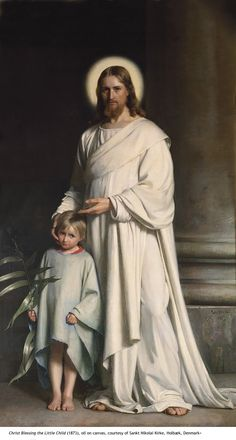 Christentum und Jesus Gemälde - Christ and Boy religion Carl Heinrich Bloch Images Of Christ, Pictures Of Christ, Religious Pictures, Religious Paintings, Religious Art, Miséricorde Divine, Image Jesus, Jesus Art, God Jesus