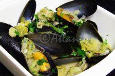 Terapia do Tacho: Mexilhões com molho de cerveja (Mussels in beer sauce)
