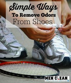 Simple ways to remove shoe odor that will save you time and money.