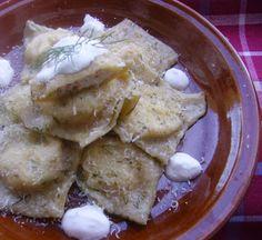 Ízes kalandok: Házi ravioli pácolt sajtos, lazacos, kapros töltel...
