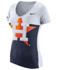 e786ac21 Nike Women's Houston Astros Tri Blocked T-Shirt Women - Sports Fan Shop By  Lids - Macy's