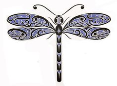 Dragonfly   by Karla L. West   Coastal Peoples Fine Arts Gallery, Vancouver, British Columbia, Canada