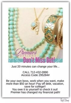 1000 images about premier designs business opportunity on for Premier designs jewelry business cards