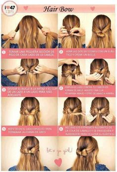 tutorial peinado moño