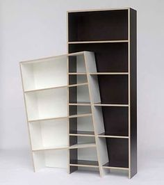 Strange furniture | This uncomfortably intoxicated-looking shelf unit is named the King of ...