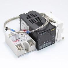 31.90$  Buy here - https://alitems.com/g/1e8d114494b01f4c715516525dc3e8/?i=5&ulp=https%3A%2F%2Fwww.aliexpress.com%2Fitem%2FC-100-220V-Digital-PID-Temperature-Controller-Thermocouple-Sensor-Relay-40A-SSR%2F32315366511.html - Digital PID Temperature Controller D1S-VR-220 K Thermocouple Sensor Relay