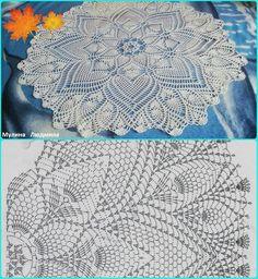 Crochet Table Runner Pattern, Free Crochet Doily Patterns, Crochet Doily Diagram, Crochet Tablecloth, Macrame Patterns, Crochet Chart, Thread Crochet, Filet Crochet, Crochet Motif