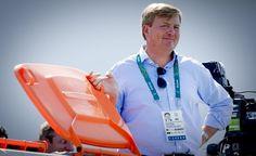 Heeft koning Willem-Alexander humor of niet? #Rio2016 #HupHolland