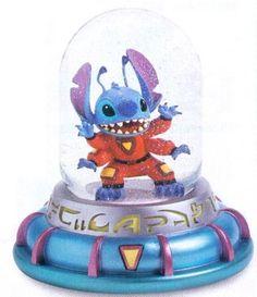 Lilo & Stitch - Experiment 626 Disney Snowglobe