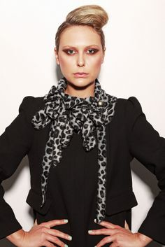 Leopard Grey Scarf Introducing our limited edition animal range. Back by popular demand we have chosen a new collection of Leopard collars especially for you. This collar scarf will add texture and colour to last seasons black winter coat. Using the highest quality fleece these collars are sure to keep you warm and stylish this winter.   Each Rew collar is handmade and individually designed in Great Britain, variations will occur in each of our collars creating unique pieces to be worn and…