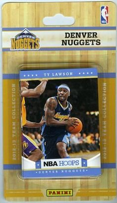 ... Denver Nuggets Brand New Factory Sealed Complete TEAM Set!! Includes 10  Cards with Aaron Afflalo fca2c67a0