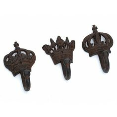 Pg Era Cast Iron Crown Hook Weather Proof