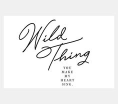 """Dress their walls in captivating typography art of the popular rock song """"Wild Thing"""" by The Troggs.-based decor brand Honeymoon Hotel, they expertly combine design with the written word for chic statement art so… Map Wall Art, Art Wall Kids, Popular Rock Songs, Ceramic Tile Art, Honeymoon Hotels, Honeymoon Ideas, Typography Art, Lettering, You Make Me"""