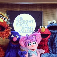 The first ever Sesame Street #TonightShowHashtags premiered last night!