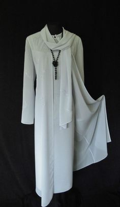 Dress With Matching Long Coat