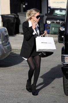 Ashley Olsen #streetstyle #fashion