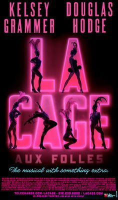 La Cage Aux Folles the Musical Broadway Poster