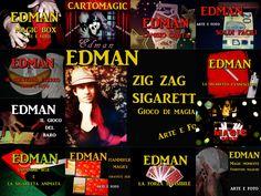 Composit di copertine video magic Edman.