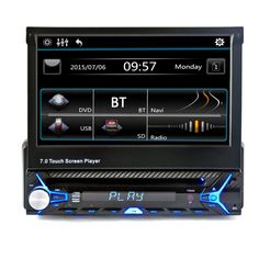 """Kaufen Sie am besten 1 # 7 """"Einzelnes Din Auto Video Audio MP5 Player ohne Rückfahrkamera von Tomtop.com. Kaufen Sie billig und hochwertig Auto Video & Audio online, verschiedene Rabatte warten auf Sie."""