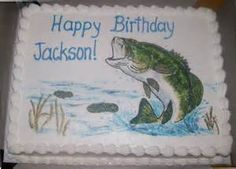 Bass Fish Cake Designs - Yahoo Image Search Results
