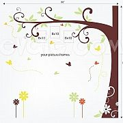 Family Tree Wall Decal for Picture Frames - evgieNev