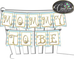 Baby Shower Gold Shower Gold Theme Stand Out Design Decoration Ideas CHAIR BANNER, Party Ideas, Party Decorations - bs002 #babyshowergames #babyshower