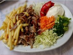 Cooking Basics for Beginners Greek Recipes, Meat Recipes, Indian Food Recipes, Cooking Recipes, Ethnic Recipes, Dinner Side Dishes, Dinner Sides, Cypriot Food, The Kitchen Food Network